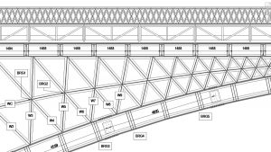GlobalCAD revit structural model Chelsea rail bridge