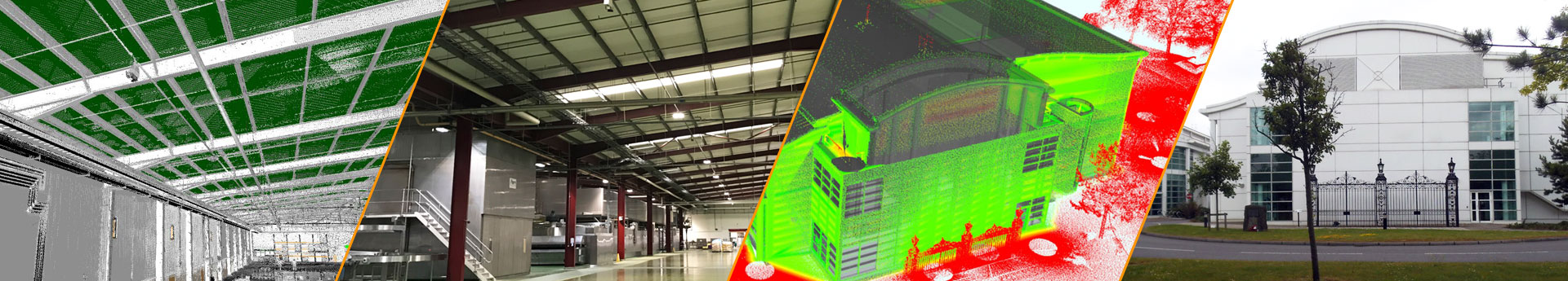 GlobalCAD service point cloud modelling